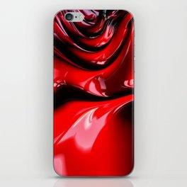 Cherry Syrup on Ice Cream iPhone Skin