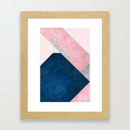 Modern Mountain No2-P1 Framed Art Print