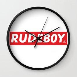 Rudeboy Wall Clock