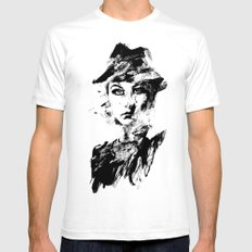 Daggers Mens Fitted Tee SMALL White