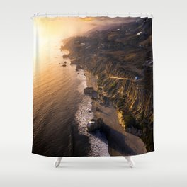 California Glows Shower Curtain