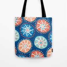 Flower Puffs Tote Bag