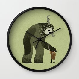 Giant Detective Wall Clock