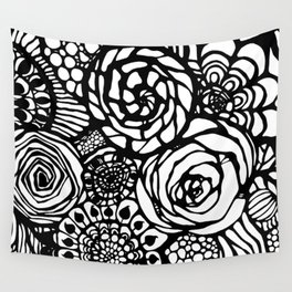 floral texture Wall Tapestry