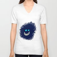 monster V-neck T-shirts featuring Monster by Take F1ve