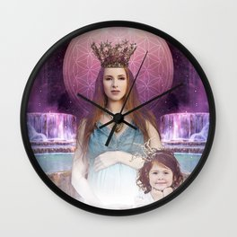Tarot - Empress Wall Clock