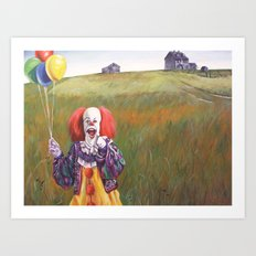 Pennywise's World Art Print