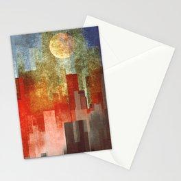 Urban Full Moon Stationery Cards