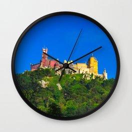 Pena Palace I Wall Clock