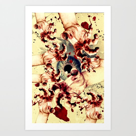 Zombies - for iphone Art Print