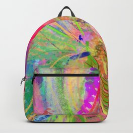 strolling by Backpack