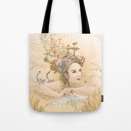 Animal princess Tote Bag