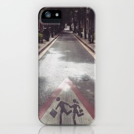Come with Me... iPhone Case