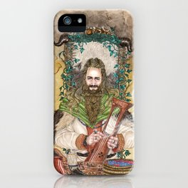 Bragi the bard of the Gods iPhone Case