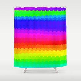 Rainbow Color S27 Shower Curtain