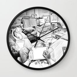 the living room Wall Clock