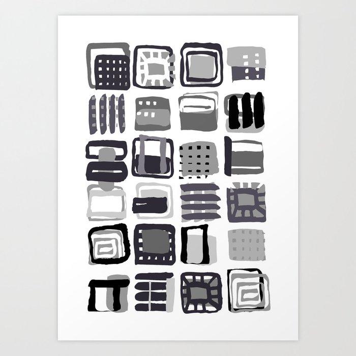 pattern 21 Art Print