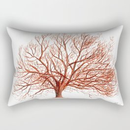 Lonely tree in autumn Rectangular Pillow