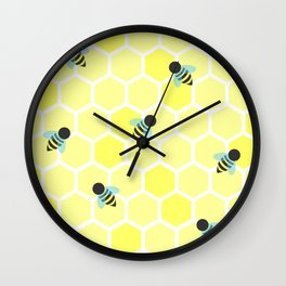 Oh Honey Wall Clock
