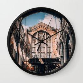 Abandoned Church, Gary IN Wall Clock