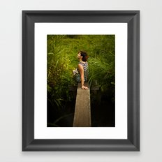 Last Step to Paradise Framed Art Print