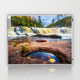 Mandio Falls - Porcupine Mountains Laptop & iPad Skin
