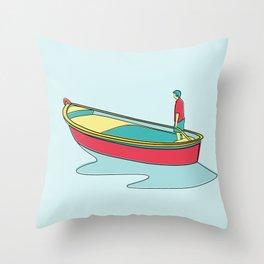 I Love Parthenopean Style Throw Pillow