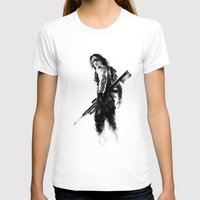 the winter soldier T-shirts featuring Winter Soldier by Mari Vasilescu