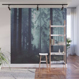 The Mystery of the Dark Walker Wall Mural