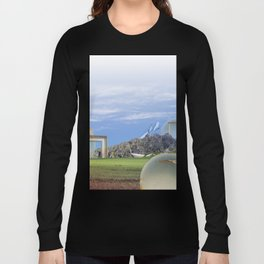 atmosphere · look into the future Long Sleeve T-shirt