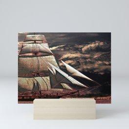 story boat  Mini Art Print