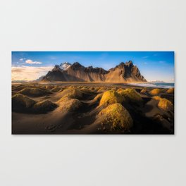 Stokksnes - Iceland | Panorama (RR136) Canvas Print