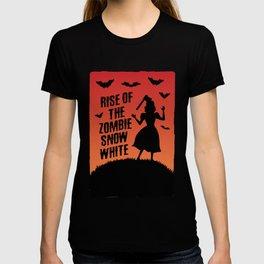 Halloween Zombie Snow White Humor Horror T-shirt