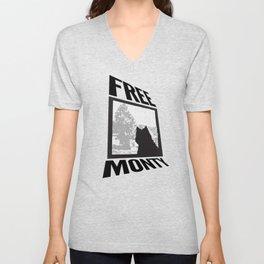 FREE MONTY Unisex V-Neck