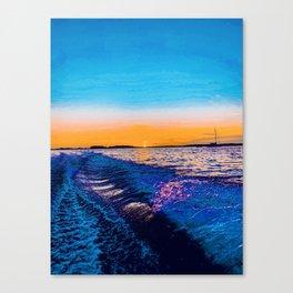 mírame  Canvas Print