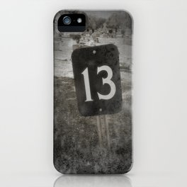 Lucky 13 iPhone Case