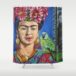 Frida Khalo Shower Curtain