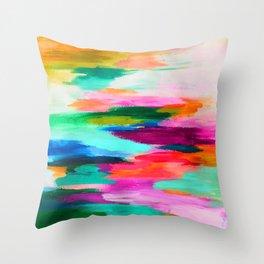 EttaVee Brush Stroke no.67 Throw Pillow