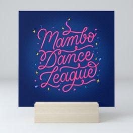 Mambo Dance League Mini Art Print
