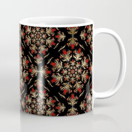 Turkish tulip - Ottoman tile pattern 15 Coffee Mug
