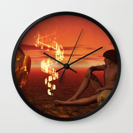 This Place I Am In Wall Clock