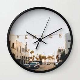 venice / los angeles, california Wall Clock