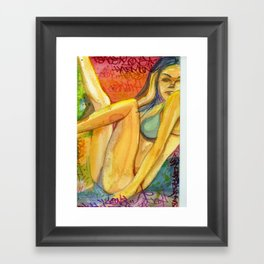 Beauty 2 Framed Art Print