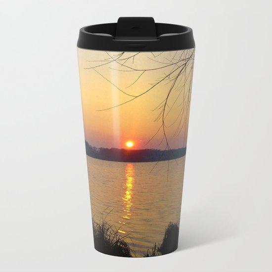 Sunset 1 Photography Metal Travel Mug