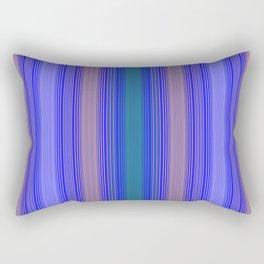 mediterranean stripe Rectangular Pillow