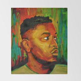 Kendrick Lamar Throw Blanket