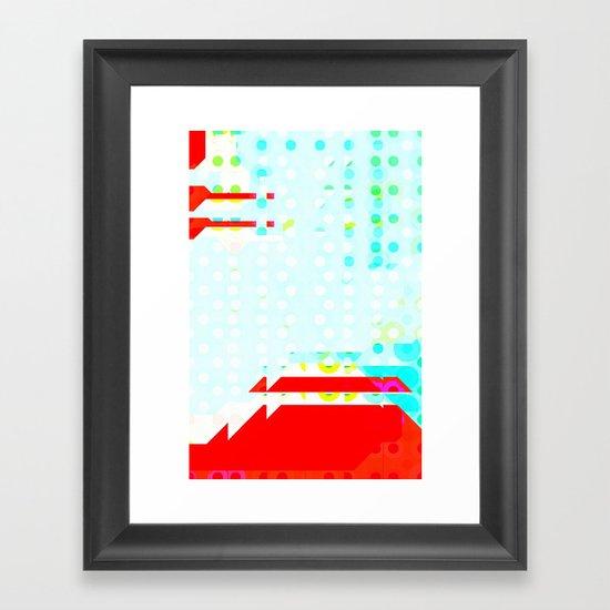 Volcano Fun Framed Art Print