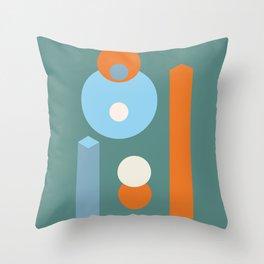Space Array Throw Pillow
