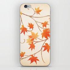 Autumn Leaves are like Flowers iPhone & iPod Skin