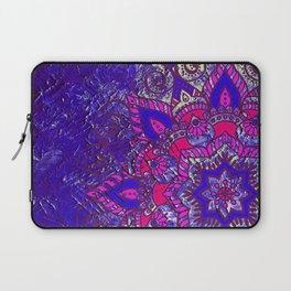 -A15- Colored Moroccan Mandala Artwork. Laptop Sleeve